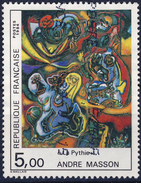 2342 La PYTHIE Tableau De MASSON   OBLITERE ANNEE 1984 - Frankreich