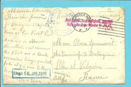 Kriegsgefangenensendung / Fotokaart Met Stempel MUNSTER Op 6/2/16