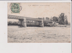 CPA - MEREVILLE - Le Pont Et Le Barrage - France