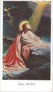 SANTINO HOLY CARD GESU' NELL'ORTO - META' 900  - (PIEGA CENTRALE) (50M - Santini