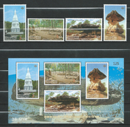 Thailand 2006 Thai Heritage Conservation Day.S/S And Stamps.MNH - Thaïlande
