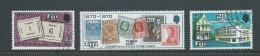Fiji 1970 Stamp Anniversary Set 3 FU - Fiji (1970-...)