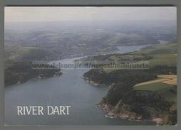 U7036 RIVER DART DEVON AERIAL VIEW AND DARTMOUTH VG (m) - Inghilterra