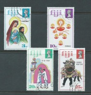 Fiji 1973 Christmas & Festival Issue Set 4 FU - Fidji (1970-...)