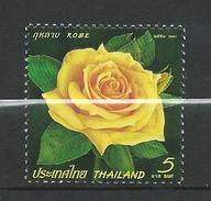 Thailand 2007 Rose.Flora/Flowers/Roses.MNH - Thaïlande