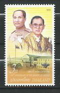 Thailand 2007 The 120th Anniversary Of The Ministry Of Defence.MNH - Thailand