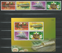 Thailand 2007 International Letter Writing Week.S/S And Stamps.MNH - Thaïlande