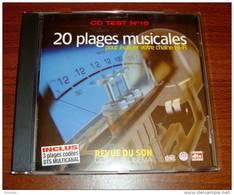 Cd Test 16 Revue Du Son 20 Plages Musicales Inclus 3 Plages Dts Multicanal - Classique