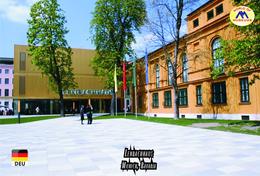 Carte Postale, Musées, Museums, Museums Of The World, Germany, Munich, Art Museums, Lenbachhaus - Musées