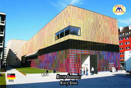 Carte Postale, Musées, Museums, Museums Of The World, Germany, Munich, Art Museums, Museum Brandhorst - Musées