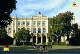 Carte Postale, Musées, Museums, Museums Of The World, Germany, Munich, Art Museums, Museum Five Continents - Musées