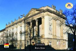 Carte Postale, Musées, Museums, Museums Of The World, Germany, Munich, Art Museums, Schackgalerie - Musées