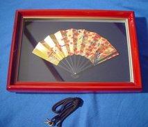 Framed Fan - Asian Art