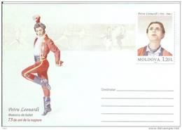 Moldova 2011 Petru Leonardi Master Of Ballet Dance Dancing Moldavia - Moldova