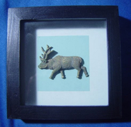 Framed Reindeer - Asian Art