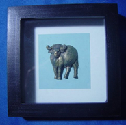 Framed Buffalo - Asian Art