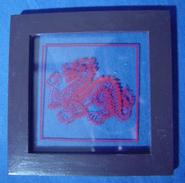 Framed Dragon - Asian Art