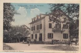 G62 - PERRIGNIER - Haute-Savoie - Hôtel Des Voyageurs Beaudet - En Face De La Gare - Autres Communes