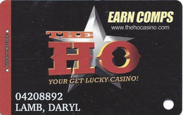 The Ho Casino - Las Vegas, NV - Only Open 2004 To 2005 - Slot Card - Casino Cards