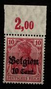 Belgien,14b,OR P,xx,gep. - Besetzungen 1914-18