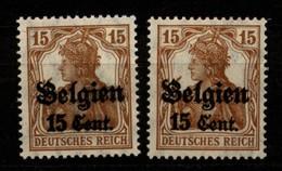 Belgien,15 I+II,xx - Besetzungen 1914-18