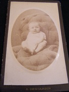 Photographie Originale Cdv -- Photo Desgardin Saint Brieuc Rue De La Gare  CDV3 - Anciennes (Av. 1900)