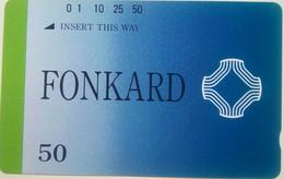 Philippines Phonecard PLDT Tamura 50 Units Mint