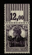 Belgien,16bII,OR Walze,xx - Besetzungen 1914-18