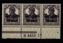 Belgien,16bII,4453.17,xx - Besetzungen 1914-18