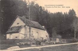 25 - DOUBS - VILLENEUVE D'AMONT - Maison Forestière Du Petit Clos - Francia
