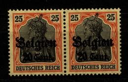 Belgien,17,Za 1,xx,gep. - Besetzungen 1914-18