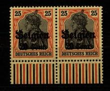 Belgien,17,Za 2,xx,gep. - Besetzungen 1914-18