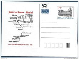 2006 Rép TCHEQUE Entier Postal Train, Locomotive** - Tchéquie