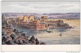 Cpa Temple De Philae - Egypt