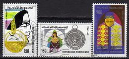 TUNESIEN 1981 - MiNr: 1016-1018 Komplett  Used - Tunesien (1956-...)