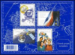 "Bloc Feuillet N°BF123 - ""Grands Projets Européens"" - 2008 - Blocs & Feuillets"