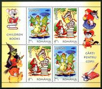 """ROMANIA 2010** - Europa 2010 - """"Children Books"""" - Block Di 4 Val. MNH  Come Da Scansione. - Europa-CEPT"""
