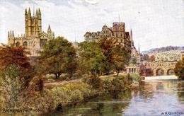 AR QUINTON - SALMON 1436 - BATH FROM THE AVON - Quinton, AR