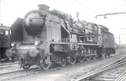LOCOMOTIVE N°240-706 PO,(Photo Format Carte Ancienne,collection Jean Bornet) - Trains