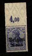 Belgien,18b,OR P,xx,gep. - Besetzungen 1914-18