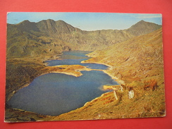 51332: WALES: CAERNARFONSHIRE: SNOWDONIA: Llyn Llydaw With Y Lliwedd And SNOWDON. - Caernarvonshire