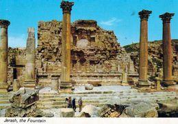 1 AK Jordanien Jordan * Fountain Im Antiken Jerash (auch Gerasa) - Eine Antike Römische Stadt * - Jordanien