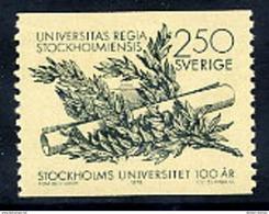 SWEDEN 1978 Stockholm University MNH / **.  Michel 1033 - Sweden