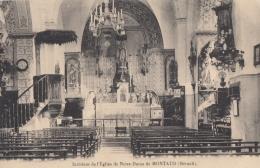 CPA - Montaud - Intérieur De L'église De Notre Dame De Montaud - Sonstige Gemeinden