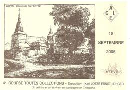 VERVINS 2005 4ème Bourse Toutes Collections - Vervins