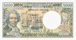 TERRITOIRES FRANCAIS Du PACIFIQUE   5000 Francs   ND (1996).   P. 3a   SUP - Territoires Français Du Pacifique (1992-...)