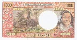 TERRITOIRES FRANCAIS Du PACIFIQUE   1000 Francs   ND (1996).   P. 2a   UNC - French Pacific Territories (1992-...)