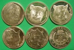 SOMALILAND SOMALIA 2016 Set Of 6 Coins CATS UNC - Somalie