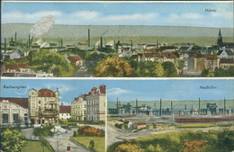 AK Dortmund-Hörde, Gesamt, Rathausplatz, Hochöfen, Um 1923 (6737) - Dortmund
