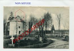 SILO A GRAIN Ou Vieux MOULIN A VENT-?-NON SITUEE-CARTE Allemande-Guerre 14-18-1 WK-France-51-02-Feldpost 57- - Oorlog 1914-18